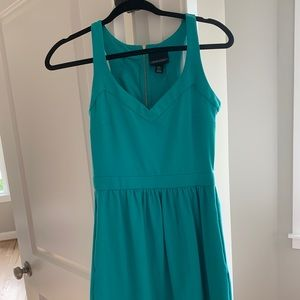 Teal sundress with pockets - Cynthia Rowley - 2
